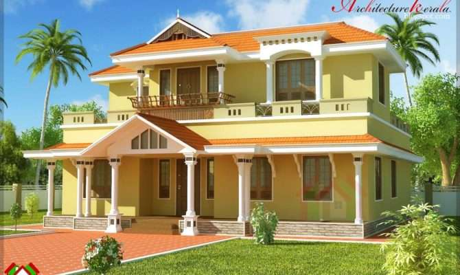 Kerala Square Feet Traditional Style House Design