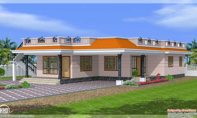 Kerala Style Single Storey Feet Home Design Appliance