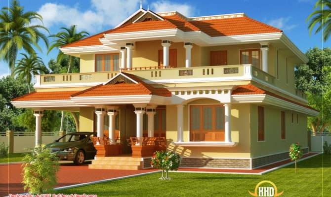 Kerala Style Traditional House Home Appliance