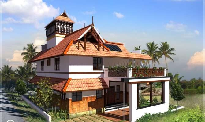 Kerala Traditional Home Square Feet Plans