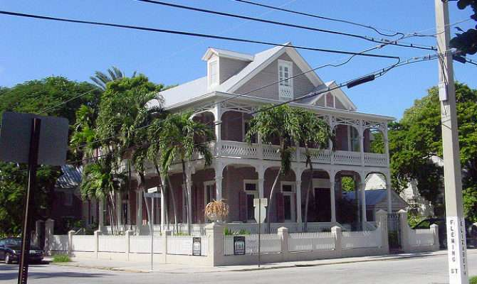 Key West Conch House Classical Reival Double