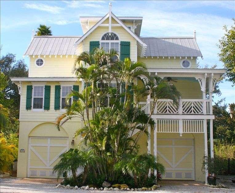 Key West Style Beach Home Overlooks Gulf Vrbo