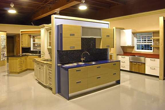 Kitchen Cabinet Showroom Great Designs All Wood