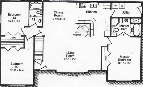 Kitchen Dining Room Floor Plans Home Deco
