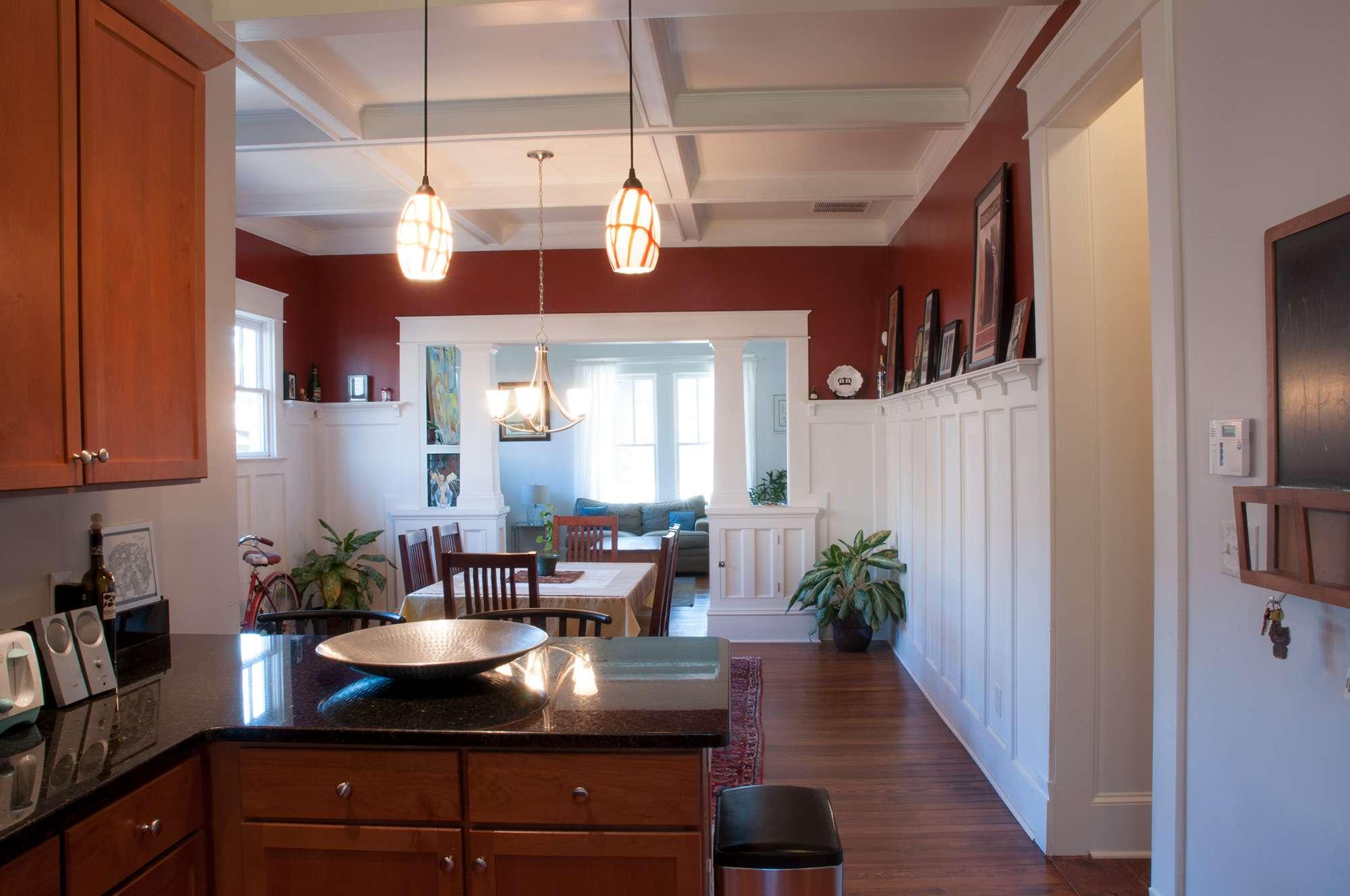 Kitchen Dining Room Living Open Floor Plan Extraordinary
