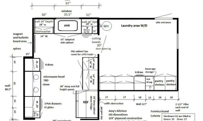 Kitchen Floor Plans Best Room Managemant Large Space Design