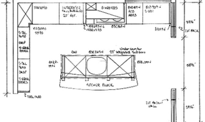 Kitchen Floor Plans Design Bookmark
