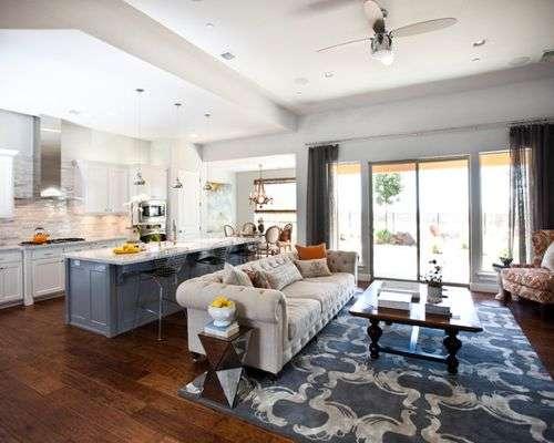 Kitchen Living Room Combo Home Design Ideas