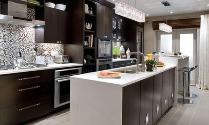 Kitchen Modern Painted Nice Kitchens Design