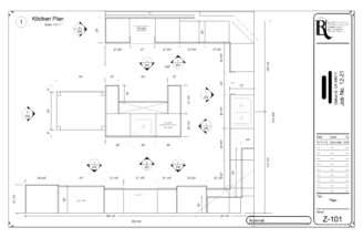 Kitchen Plan Rivendell Woodworks Inc