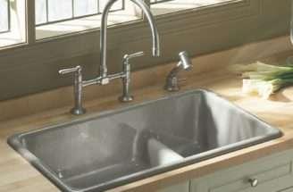Kitchen Sink White Porcelain Undermount Amazon