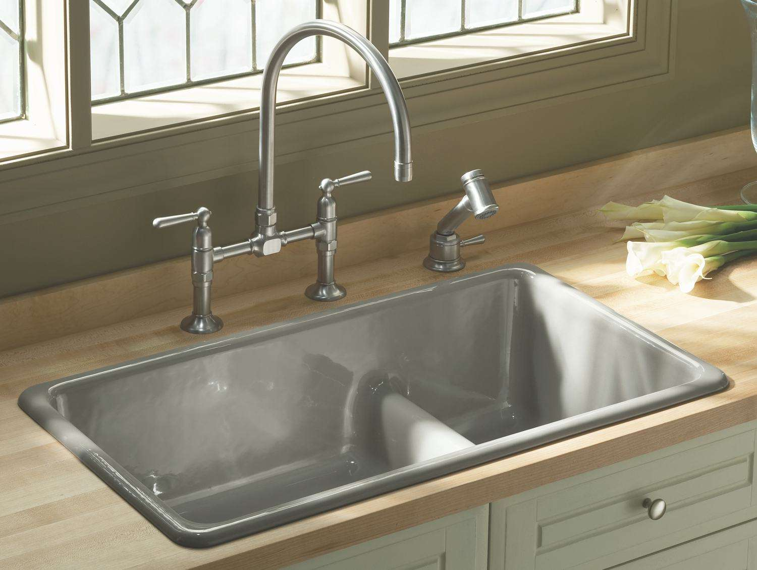 Kitchen Sink White Porcelain Undermount Amazon