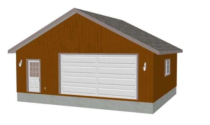 Klaner Detached Garage Sds Plans