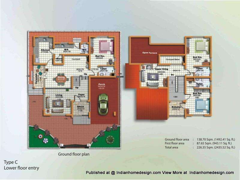 Koh Samui Villas Private Luxury Thailand Floor Plans