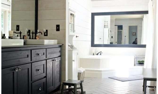 Kristi Modern Farmhouse Rustic Glam Master Bathroom
