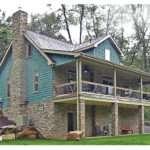 Lake Cabin Plans Walkout Basement House