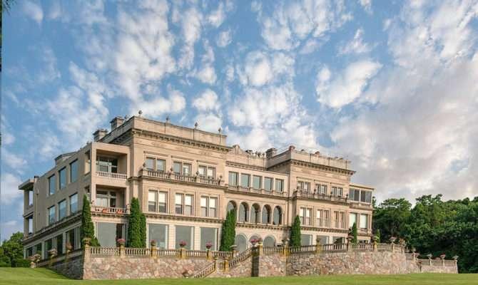 Lake Geneva Stone Manor Penthouse Auctioned Photos