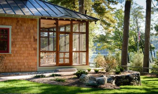 Lakefront Cottage Bonin Architects