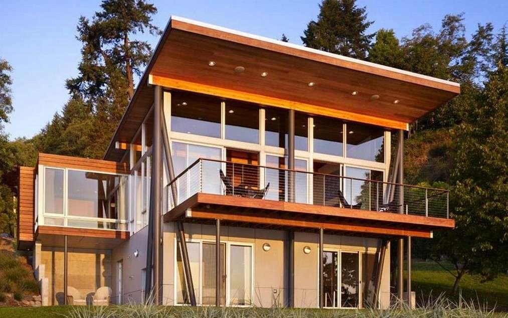 Lakefront Home Plans Walkout Basement Rooms House