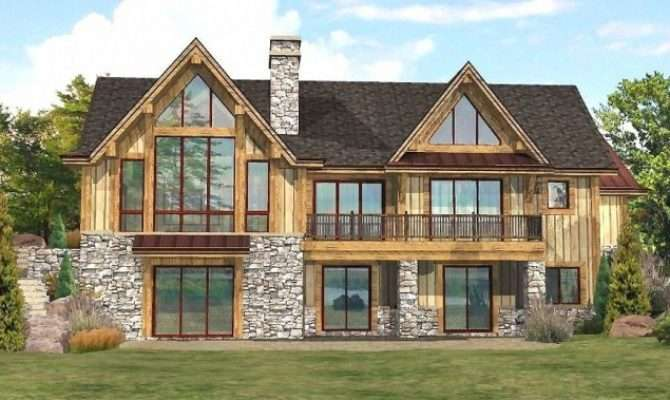 Lakefront Log Homes Cabins Home Floor Plans Wisconsin