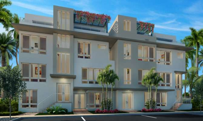 Landmark Story Townhomes New Home Community Doral Miami