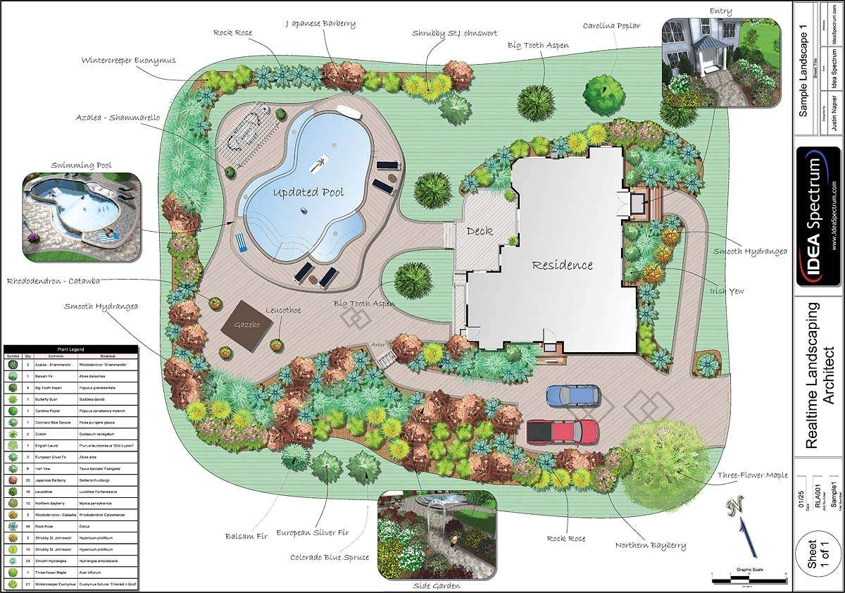 Landscape Design Plan Software Garden Trends
