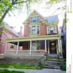 Large Brick Victorian Style Home