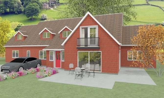 Large Dormer Bungalow Designs Churchfield