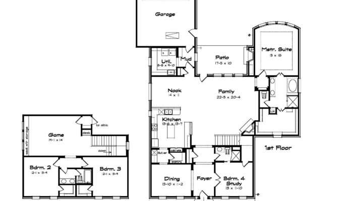 Large Home Floor Plans Homes