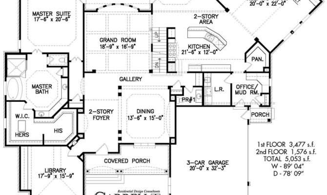 Large Houses Floor Plans Two Storey Designs