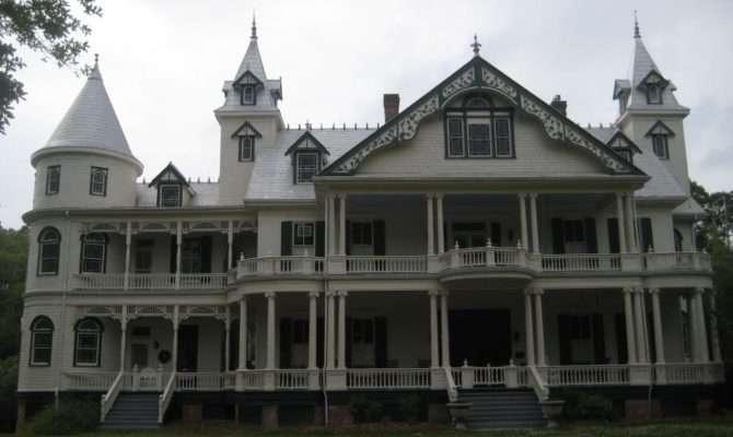 Large Queen Anne Victorian Plantation House Followpics