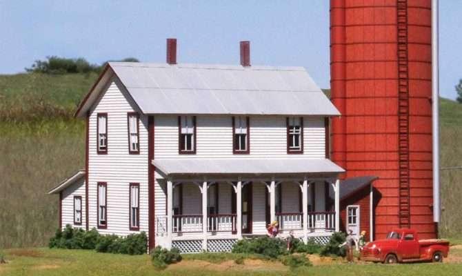 Laserkit Two Story Farmhouse Kit Scale