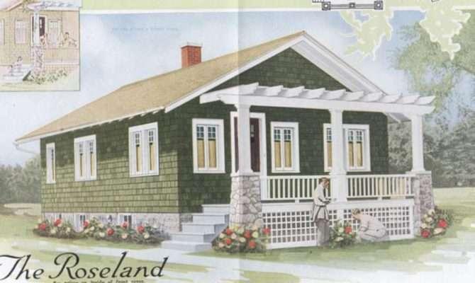 Laurelhurst Craftsman Bungalow Aladdin Kit Homes