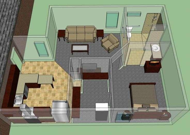 Law Suite House Plans Guest Parent Pinterest