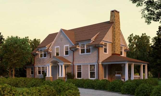 Lewey Lake Shingle Style Home Plans David Neff Architect