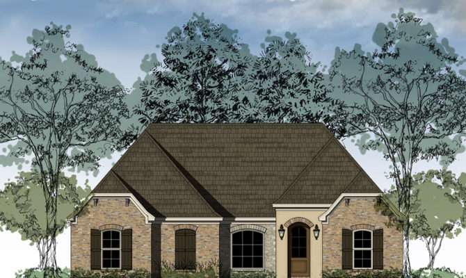 Lincoln Heights Ranch Home Plan House Plans