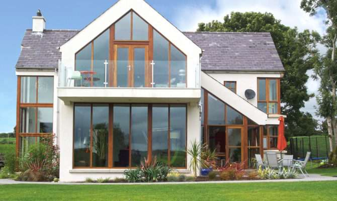 Lintels Glazed Gable Apex Cantilevered Balconyg
