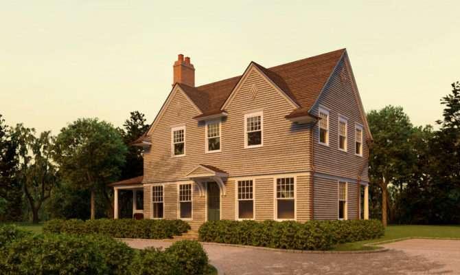 Little Harbor Shingle Style Home Plans David Neff