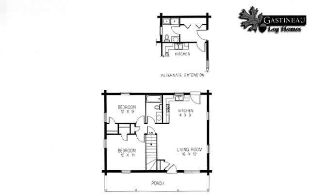 Little House Prairie Plans Casual Cabin Living Collection