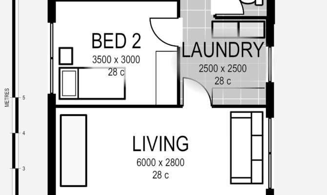Living Beautiful Life Granny Flat Plan Far