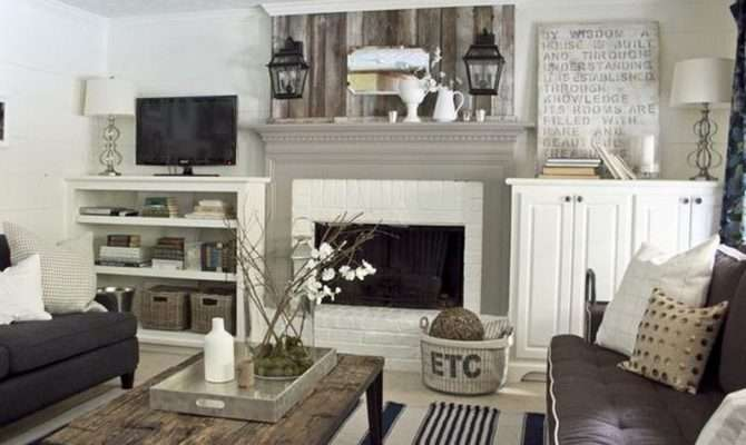 Living Room Darnell Cottage Style Design Interior