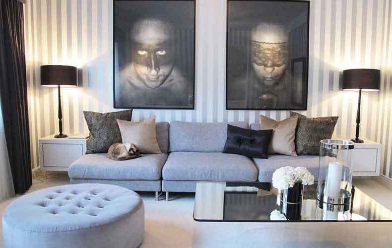 Living Room Decorating Ideas Model Home Decor