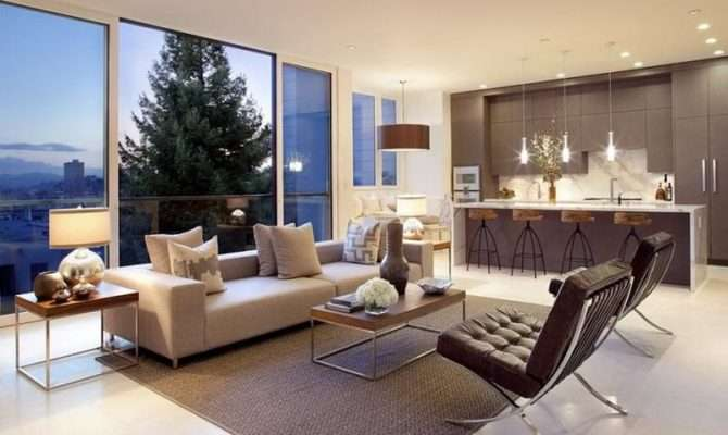 Living Room Great Design Give Cozy Atmosphere Modern