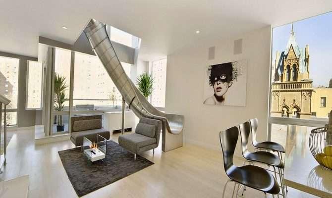 Living Room Ideas High Tech