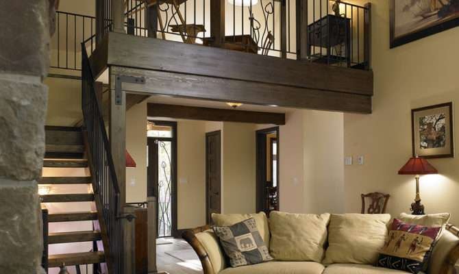 Living Room Loft Above Article