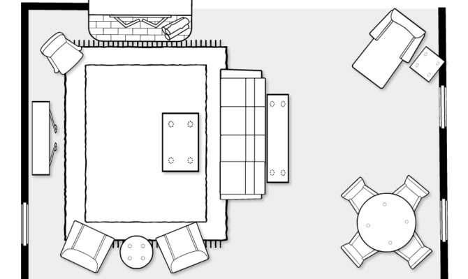 Living Room Plans Layout Coma Frique Studio