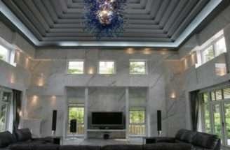 Living Room Windows Neoclassical Design Ideas