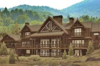 Lodge Log Homes Cabins Home Floor Plans Wisconsin