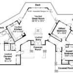 Lodge Style House Plan Sandpoint Floor