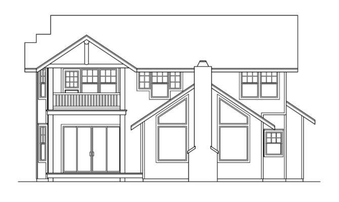 Lodge Style House Plans Deschutes Associated Designs